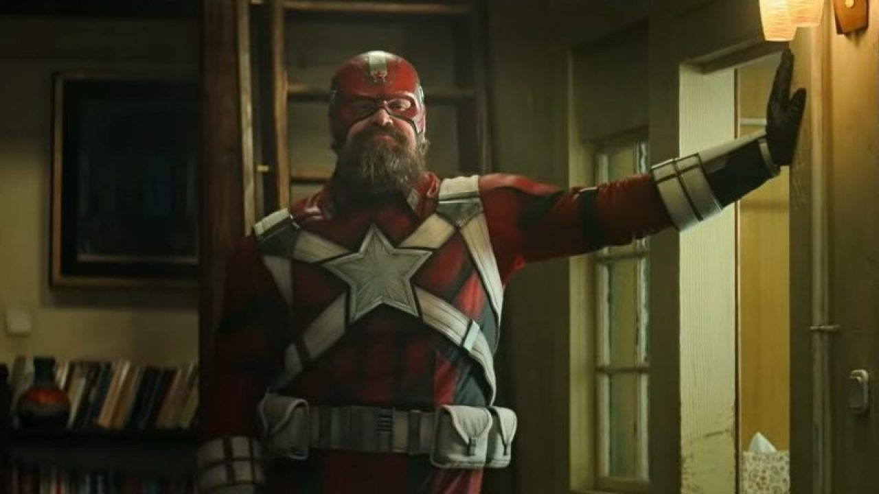 David's Red Guardian outfit was the least comfortable costume on the set.