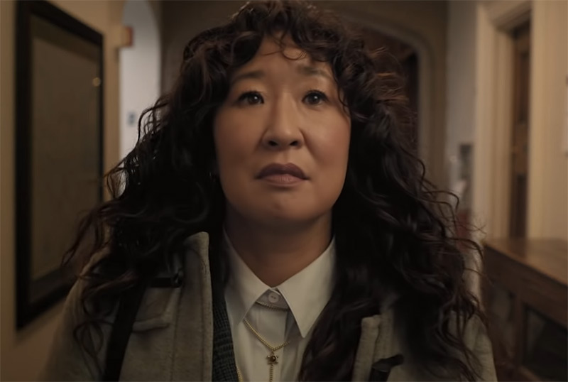 Sandra Oh Arrives at School in First Look at Netflix's The Chair