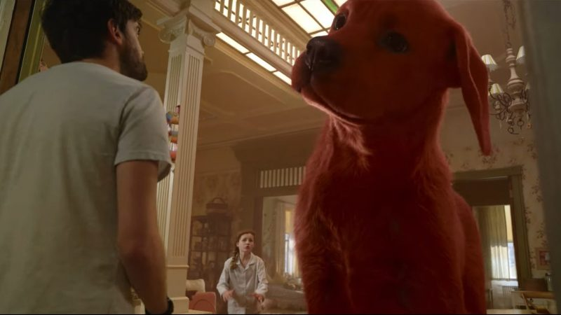 Clifford the Big Red Dog Trailer Previews Paramount's New Live-Action Pic