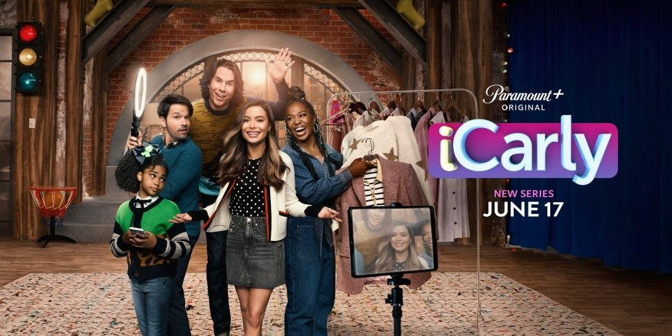 Watch the iCarly Revival's New Title Sequence