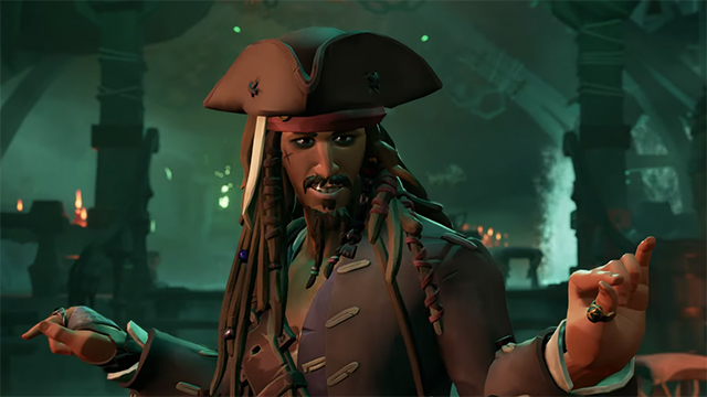 Sea of Thieves Getting Pirates of the Caribbean DLC