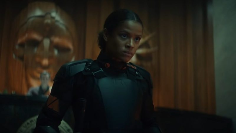 Gugu Mbatha-Raw had previously auditioned for Marvel a few times. She plays Ravonna Renslayer on the show.