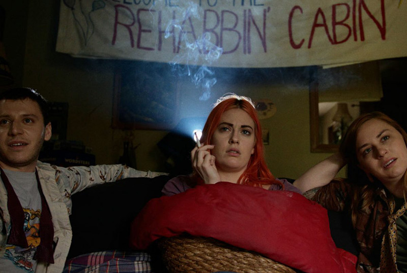 Exclusive Rehab Cabin Trailer: Catch a Falling Star in Kate Beacom's New Comedy