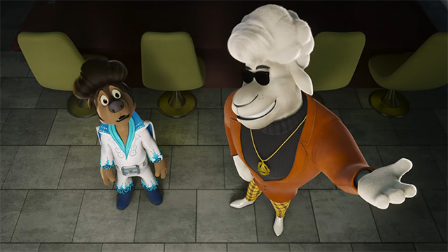 Exclusive Rock Dog 2: Rock Around the Park Clip: Crossroads Recording Booth
