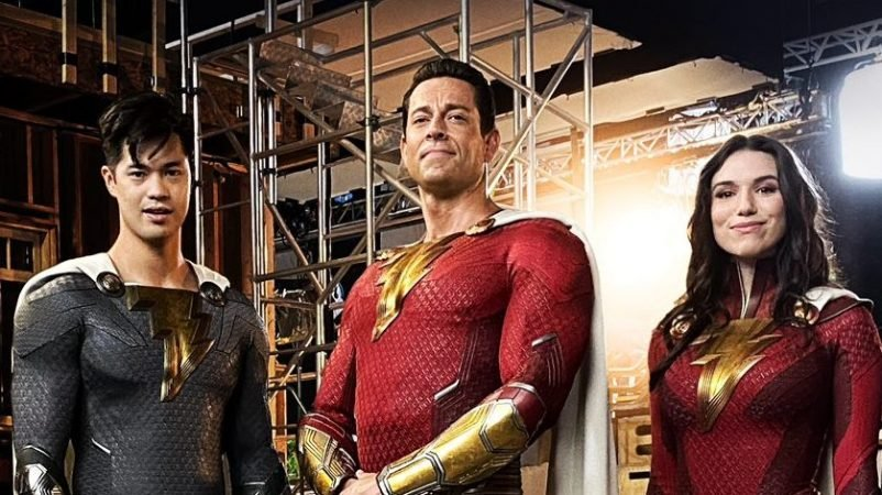 New Shazam! Sequel Photo: First Look at Shazam Family's New Suits