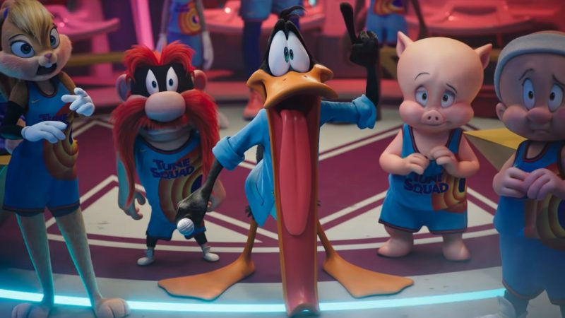 It's Tunes versus Goons in New Space Jam: A New Legacy Trailer