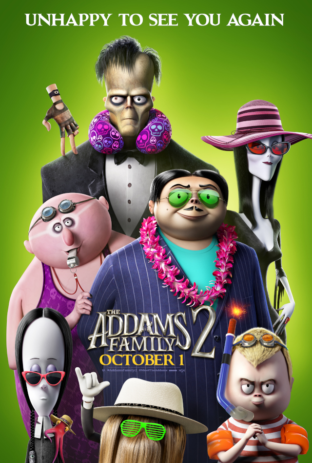 The Addams Family 2 Payoff Poster