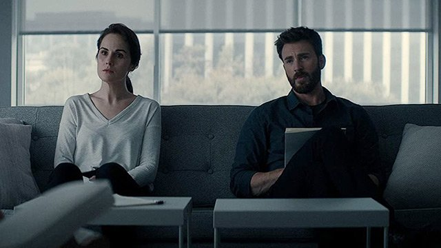 Chris Evans Talks Working with Michelle Dockery in Exclusive Defending Jacob Clip