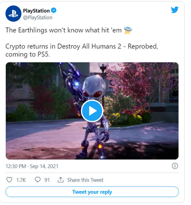 Destroy All Humans! 2 Reprobed Gets Revealed and Then Pulled