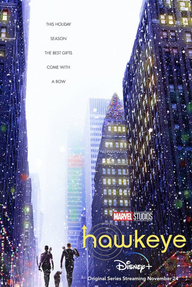 Hawkeye trailer and poster