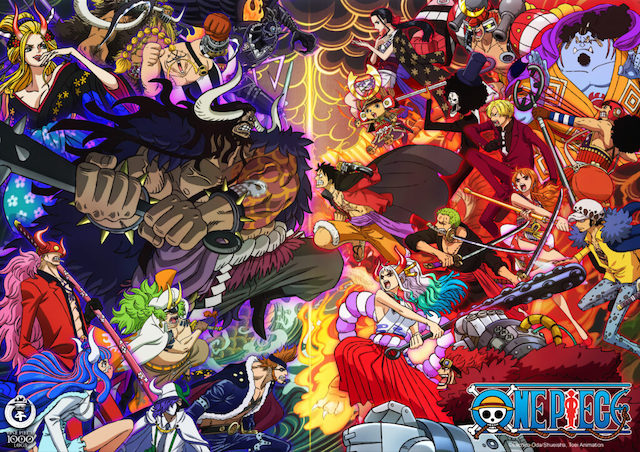 One Piece Releases New Visual to Celebrate Upcoming 1000th Episode
