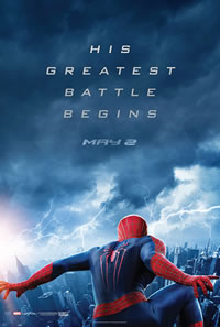 The Amazing Spider-Man 2 on DVD Blu-ray today