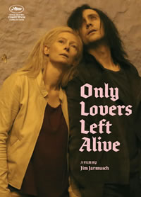 Only Lovers Left Alive on DVD Blu-ray today