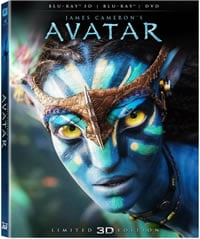 Avatar (3D Collector's Edition) on DVD Blu-ray today