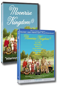 Moonrise Kingdom on DVD Blu-ray today