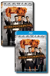 Seven Psychopaths on DVD Blu-ray today