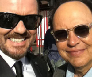 Ricky Gervais to host the 2012 Golden Globe Awards