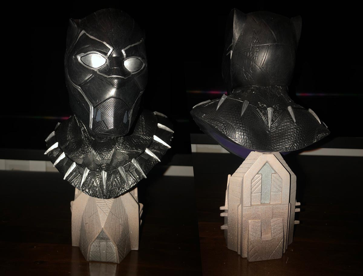 Black Panther Movie 1:2 Scale Resin Bust