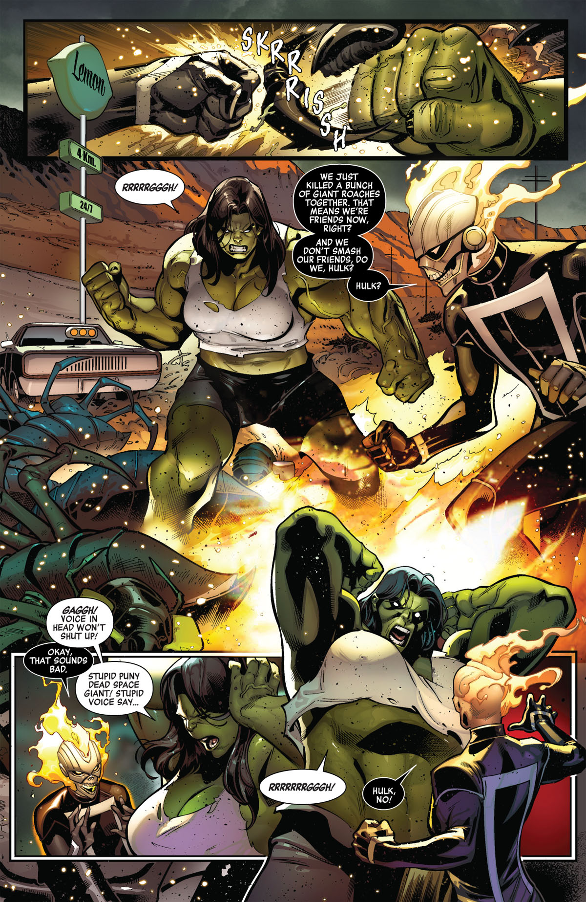 Avengers #3 page 1