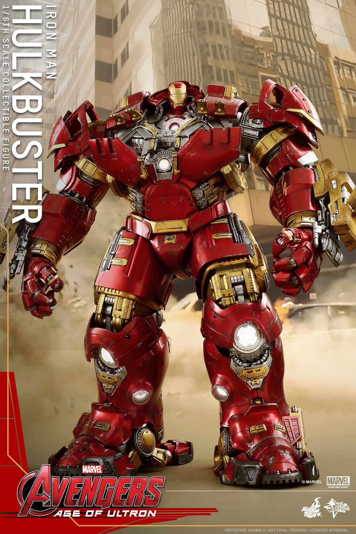 Avengers: Age of Ultron Hot Toys Hulkbuster