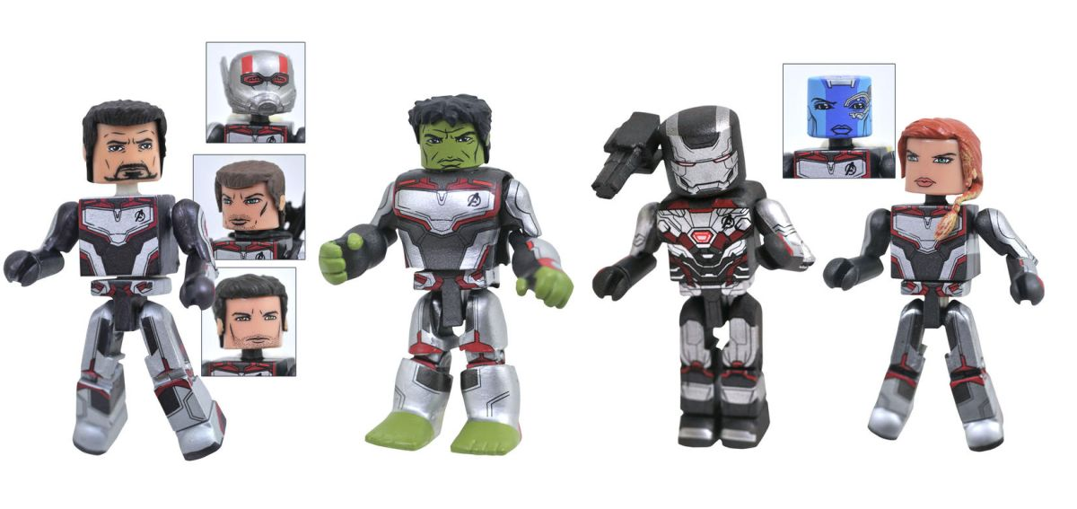 More Avengers Endgame Statues Figures And Lego Sets Revealed