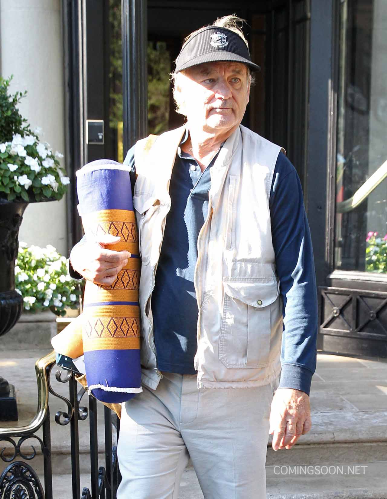 Bill Murray Heads to Ghostbusters Set