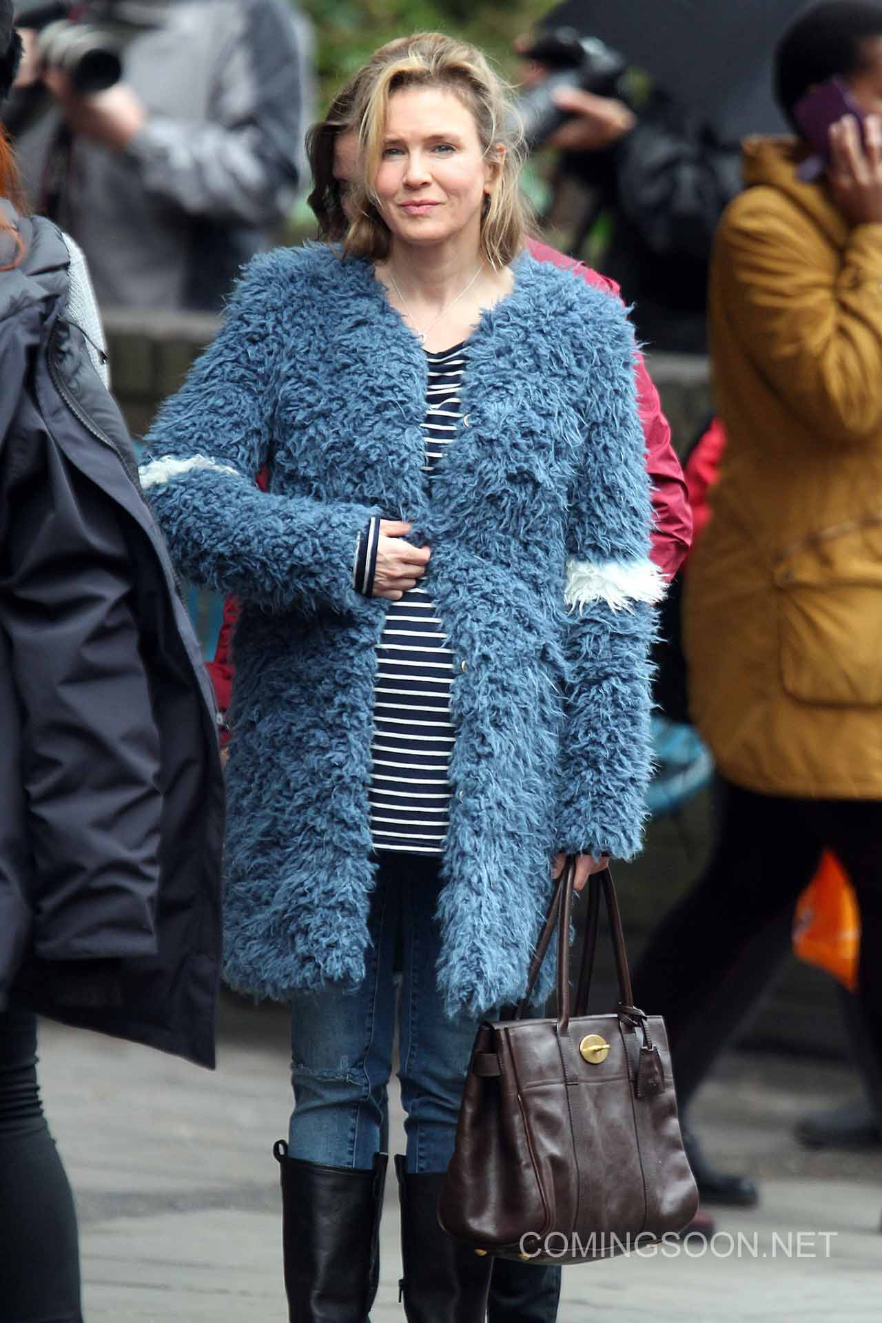 Bridget Jones's Baby , currently filming, has a release date set for ...