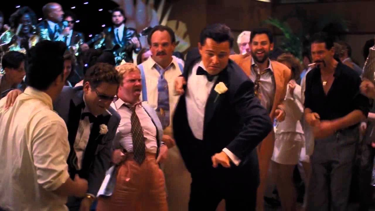 The Leo DiCaprio, The Wolf of Wall Street (2013)
