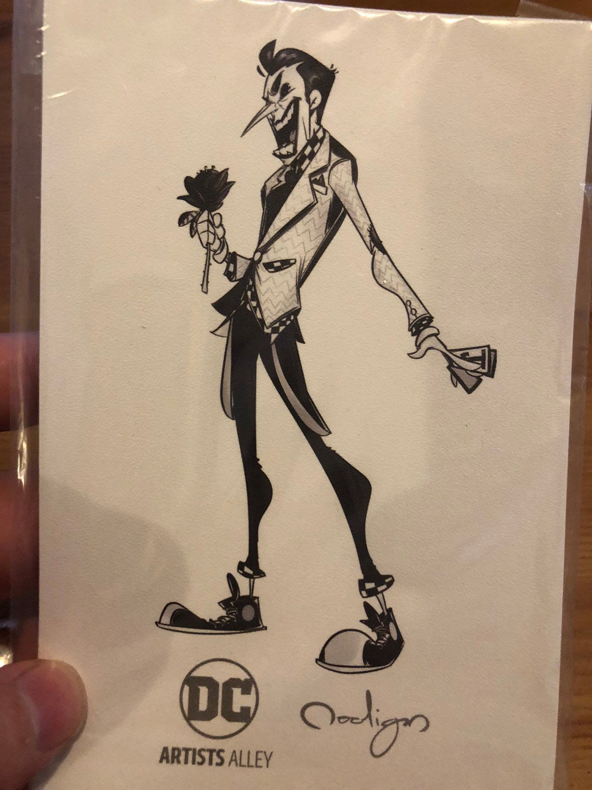 DC Artists Alley Black and White Variants