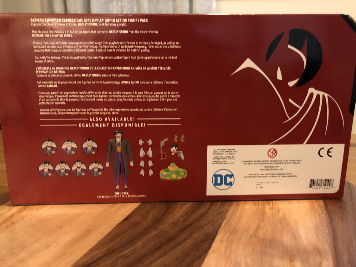 Batman the Animated Series: Harley Quinn Expressions Pack