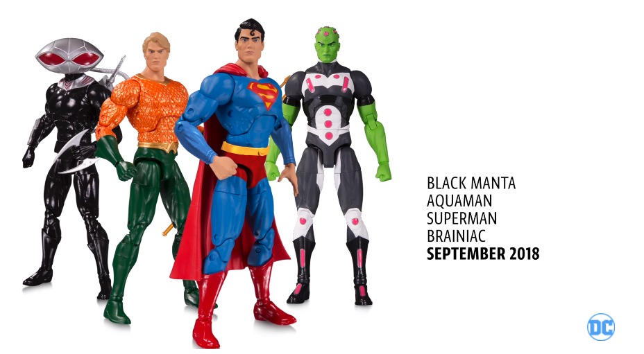 DC ESSENTIALS ACTION FIGURES