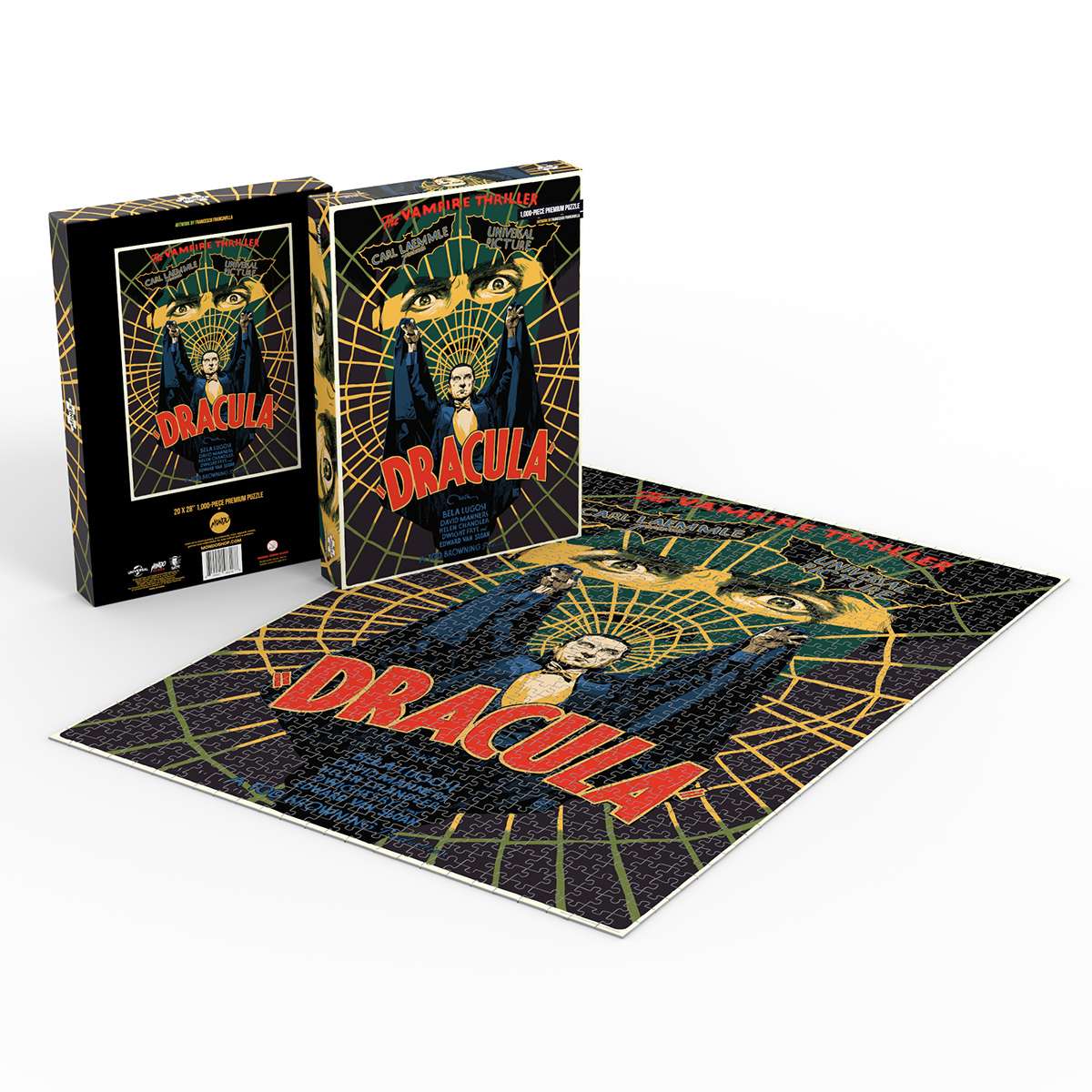 Exclusive: Mondo's Four New Universal Monsters Puzzles