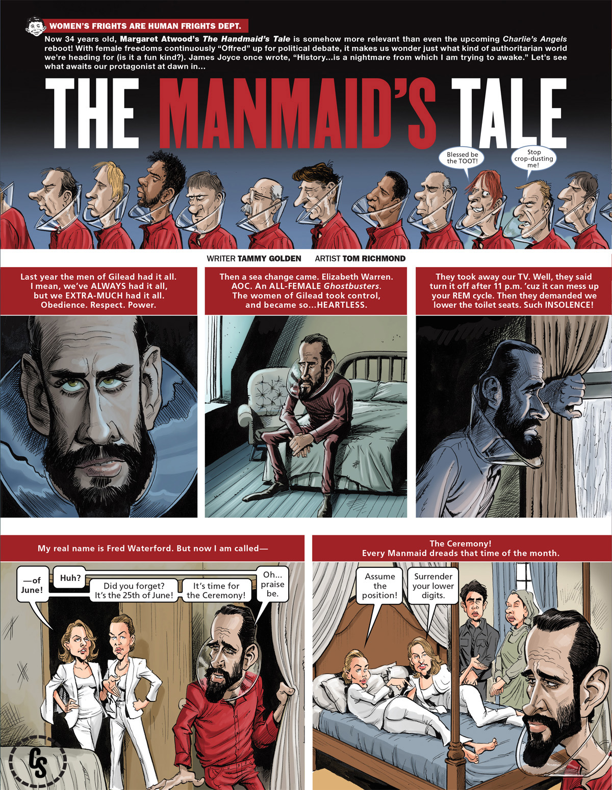 The Handmaid's Tale Parody from MAD #10