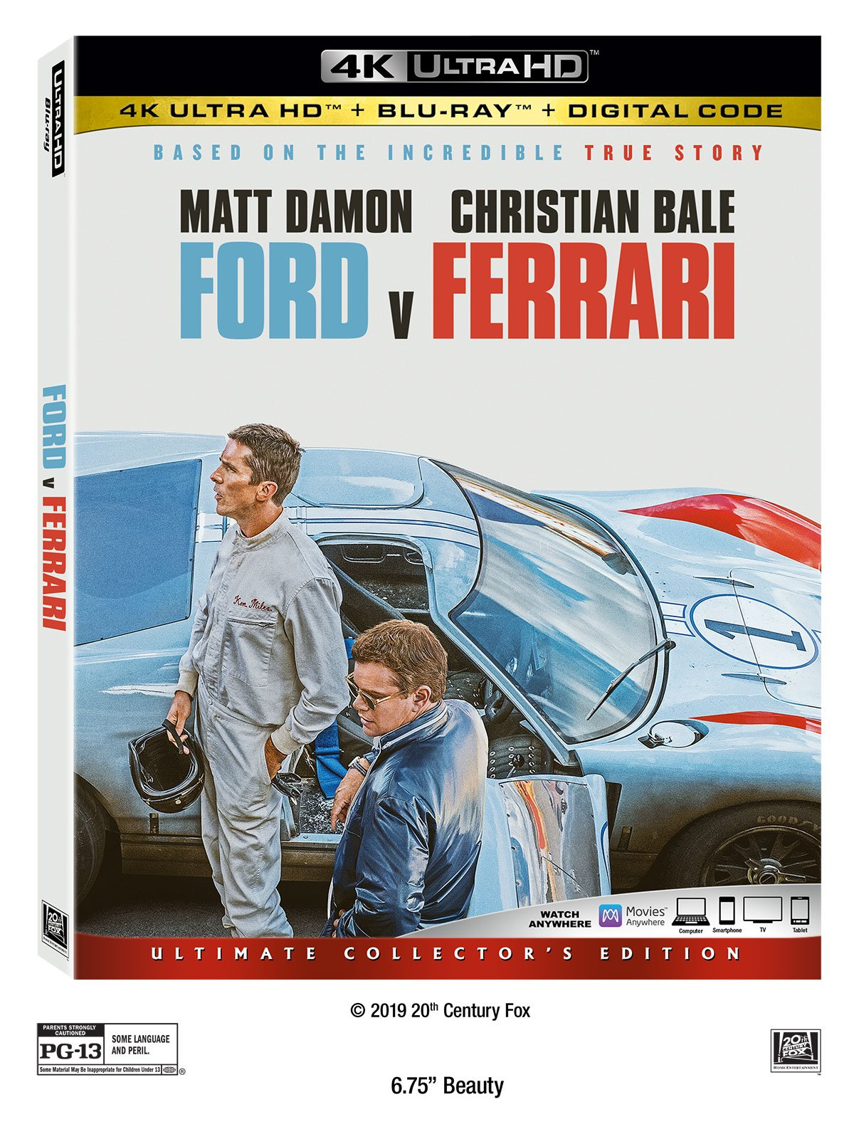 The American Dream Goes For A Ride In Ford V Ferrari Poster Comingsoon Net