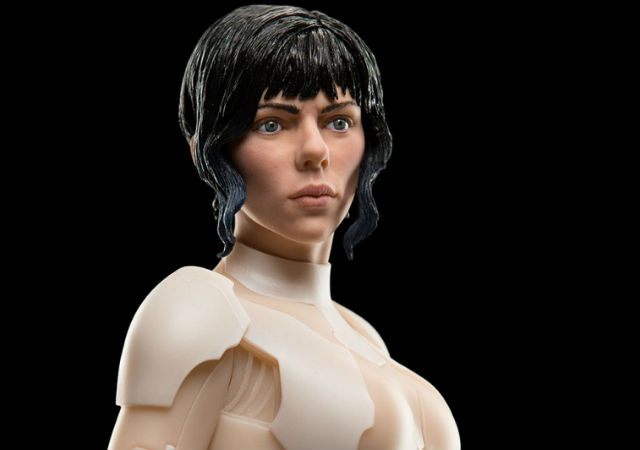 Major Face View - Ghost In the Shell - WETA Collectibles