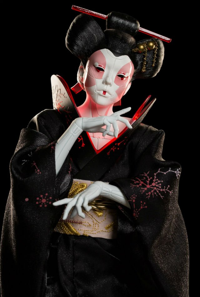 Geisha Close Up - Ghost In the Shell - WETA Collectibles