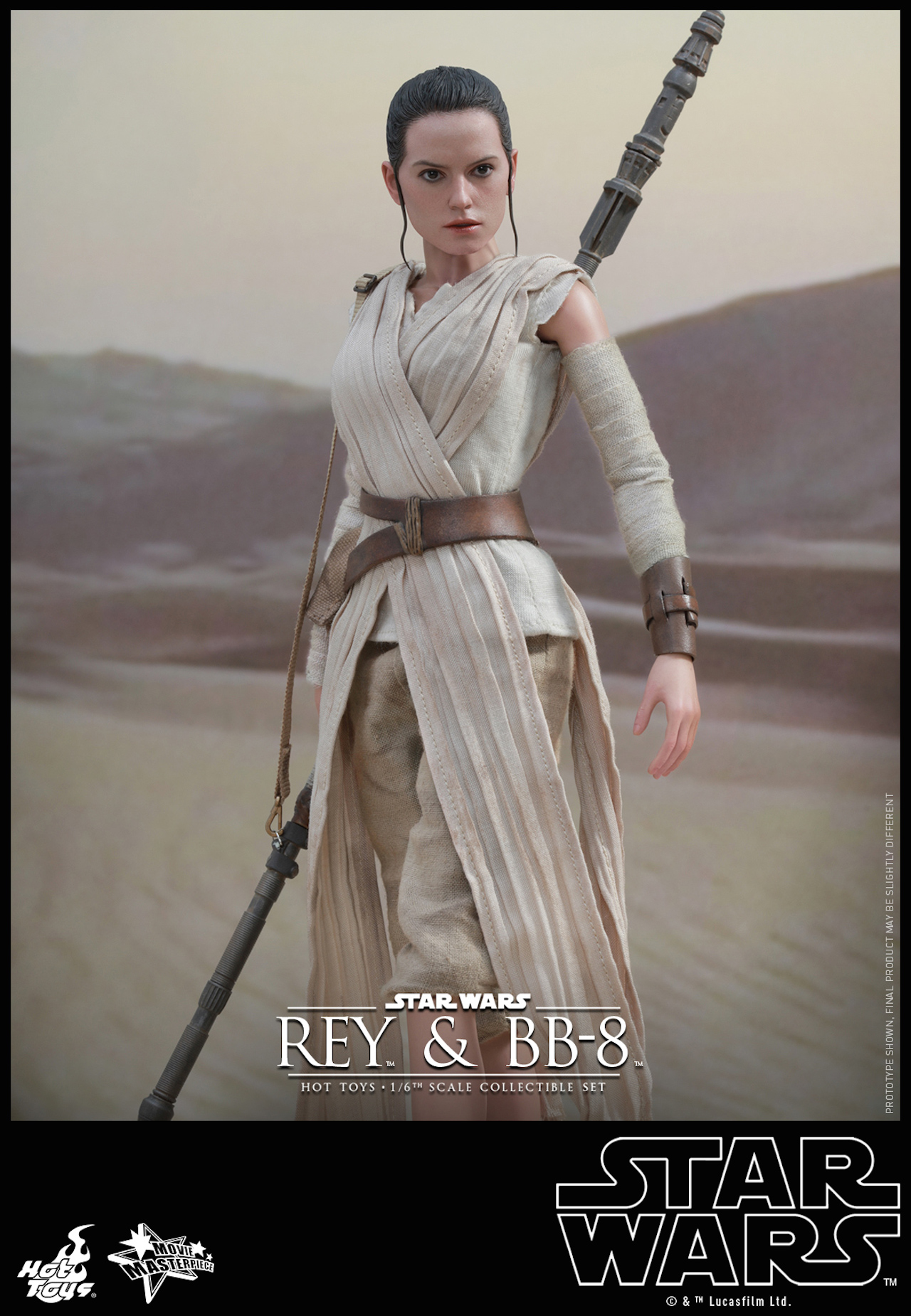 Hot Toys Rey and BB-8