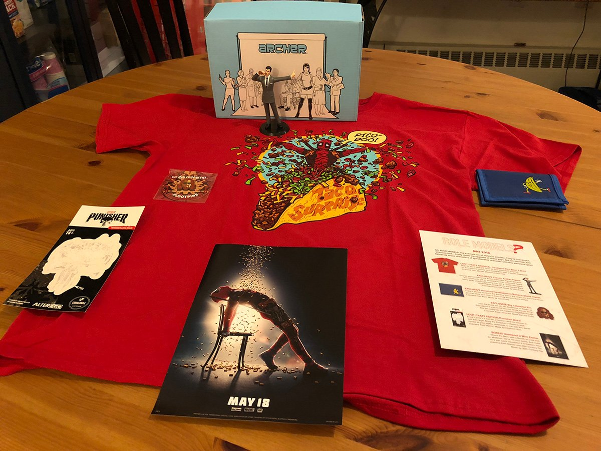 May 2018 Standard Loot Crate