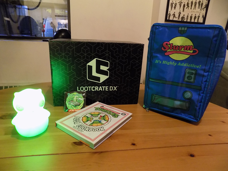 Loot Crate DX July 2017: Animation