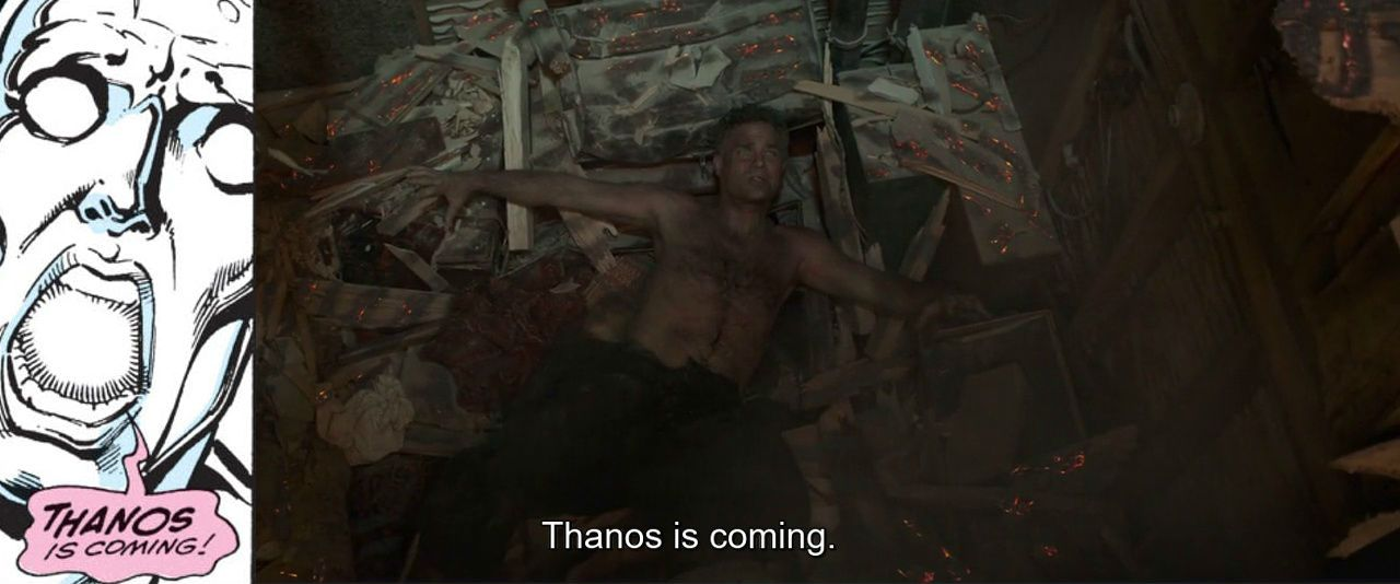 """""""Thanos is coming"""""""
