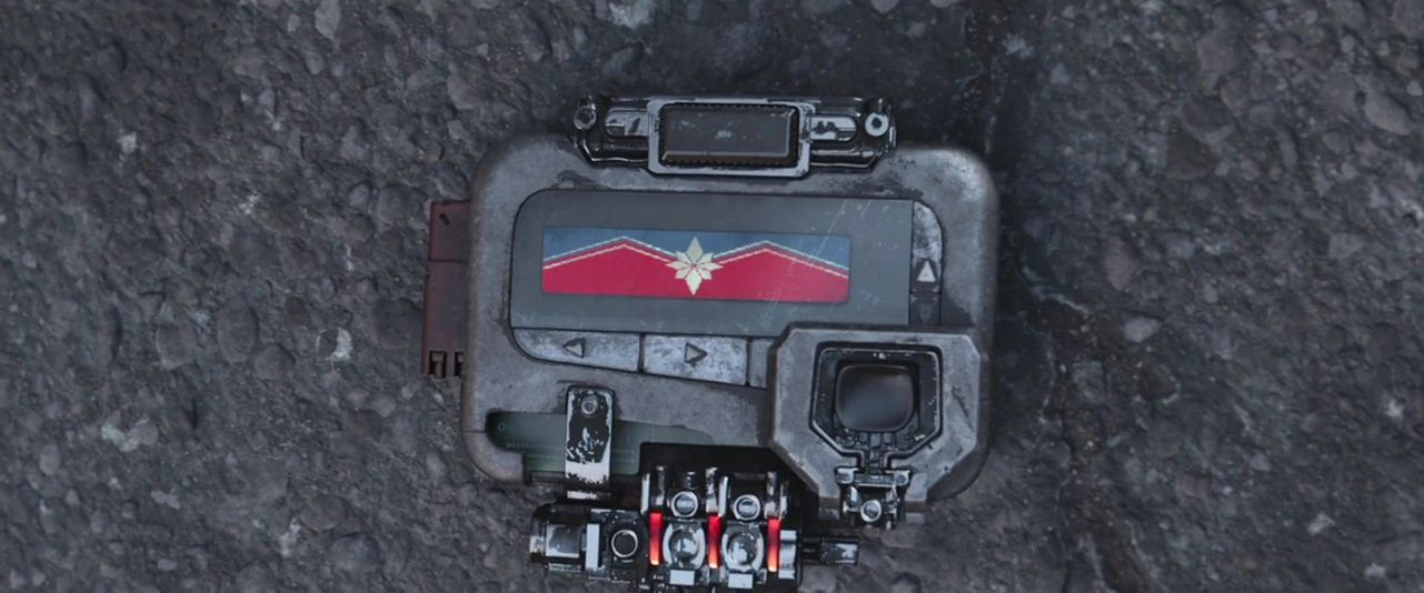 Paging Captain Marvel...