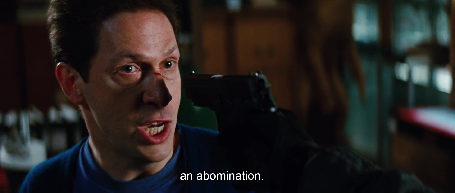 'An Abomination'