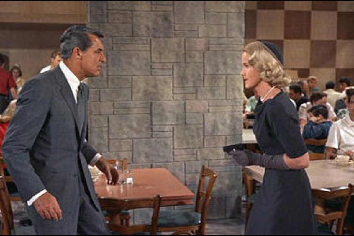 Covering Ears, North by Northwest (1959)