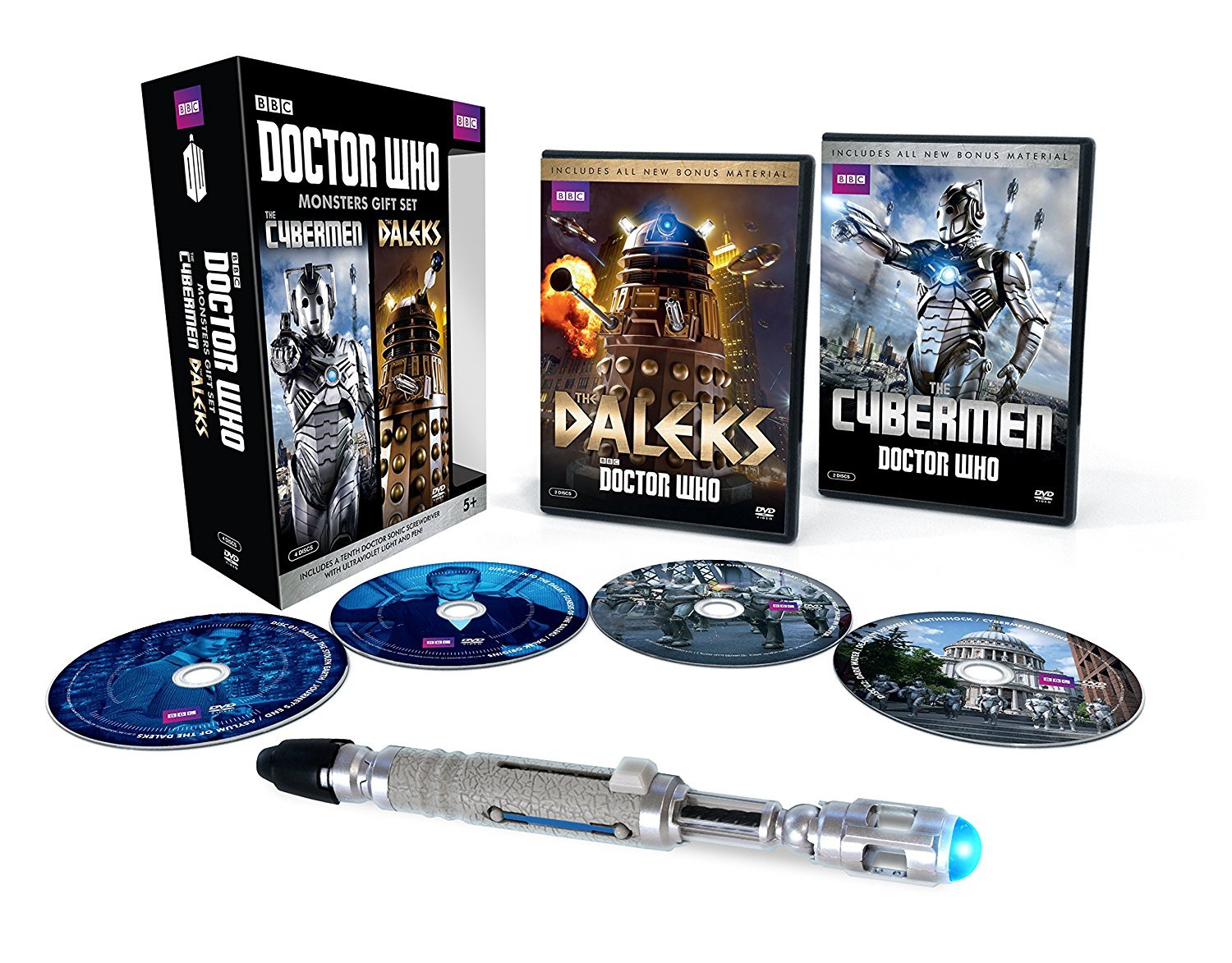Doctor Who Monsters Gift Set