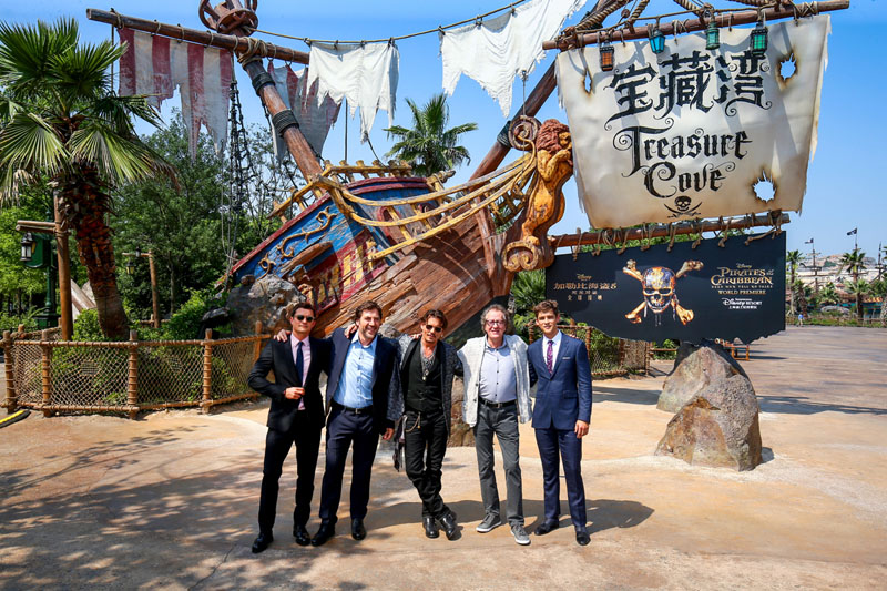 Pirates of the Caribbean: Dead Men Tell No Tales Premiere