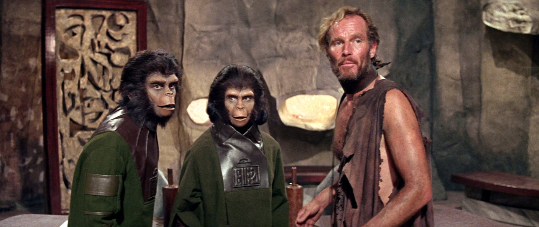 1. Planet of the Apes (1968)