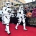 HOLLYWOOD, CA - DECEMBER 14: Stormtroopers attend the World Premiere of ?Star Wars: The Force Awakens? at the Dolby, El Capitan, and TCL Theatres on December 14, 2015 in Hollywood, California. (Photo by Alberto E. Rodriguez/Getty Images for Disney)
