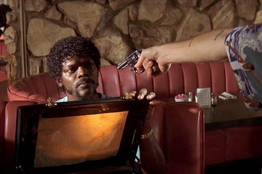 The briefcase, Pulp Fiction (1994)