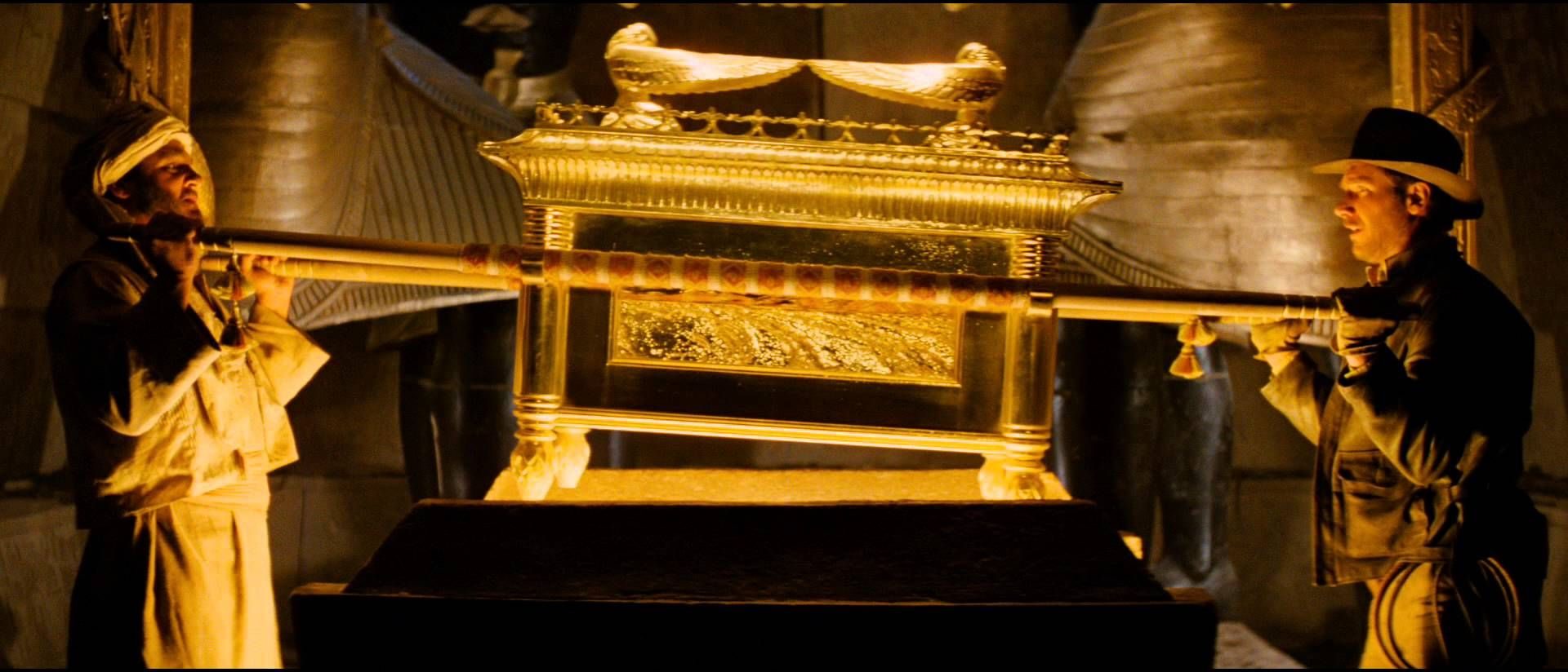 The ark of the covenant, Raiders of the Lost Ark (1981)
