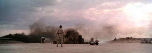 10. A NEW HOPE (The Death of Uncle Owen and Aunt Beru)